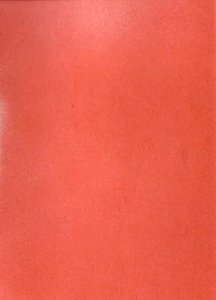 """N° d'Edition : TOPO001  """"Daydream is my favorite thing"""".  Projet de livre à tirage unique. Cahier Moleskine en accordéon, une lettre fond rouge par page. Album japonais de 60 pages, 9X14 cm, papier à dessin."""
